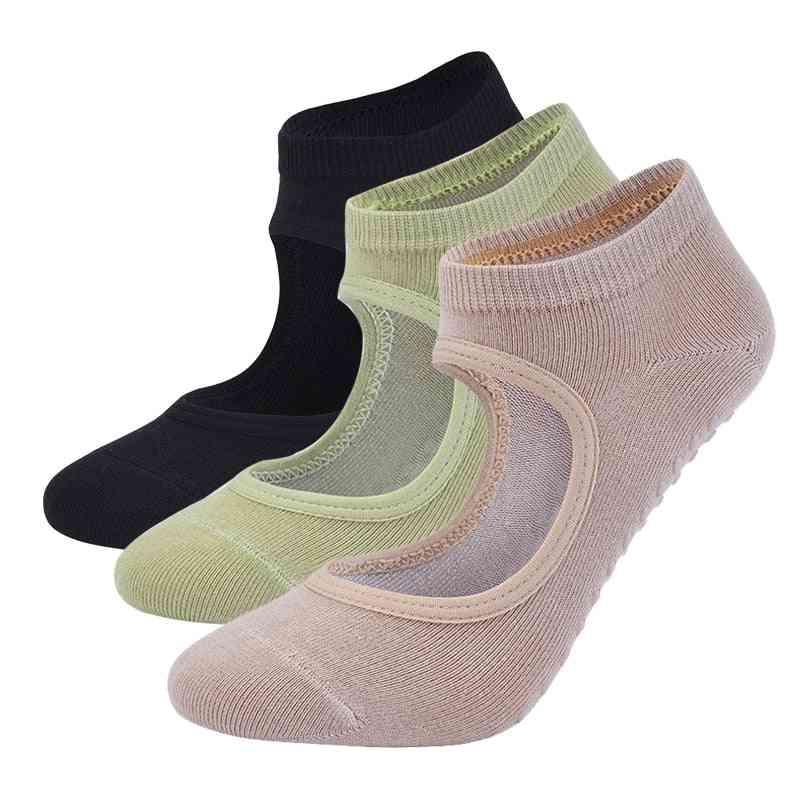 Anti-slip, Breathable, 5 Finger Design Ankle Socks For Sports, Fitness, Gym Pilates