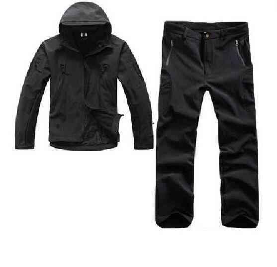Men Outdoor Sport Tactical Jackets - Waterproof Military Jacket & Pants