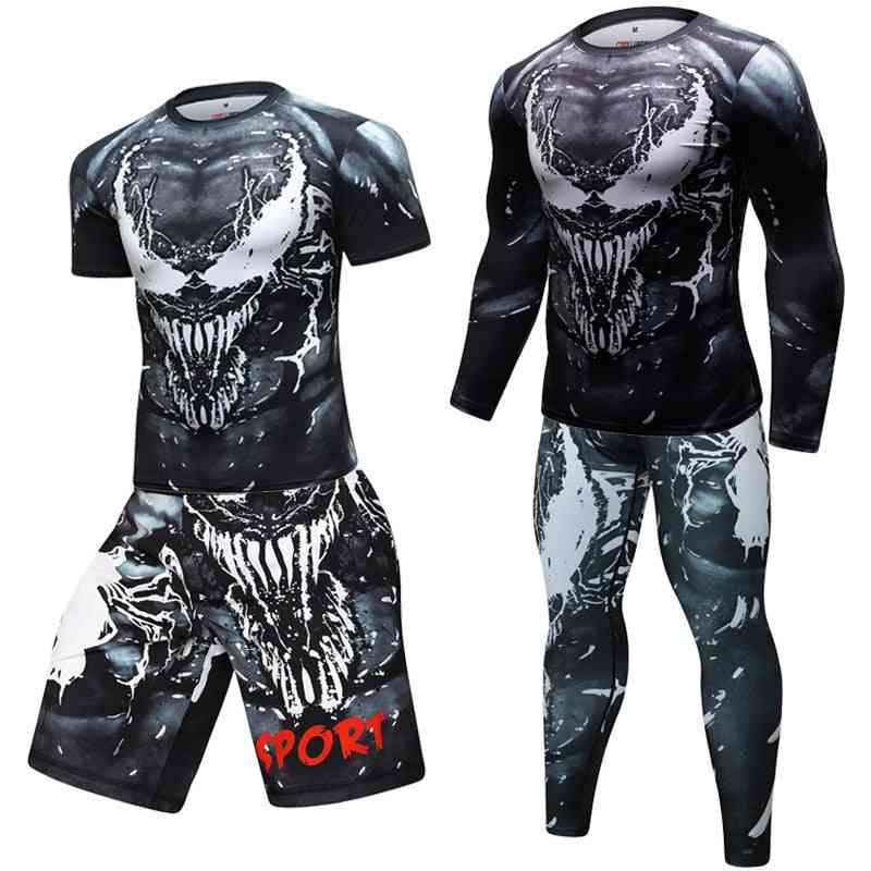 T Shirts And Pants,( Optional)  Fitness Tracksuit, Boxing Jerseys Clothes