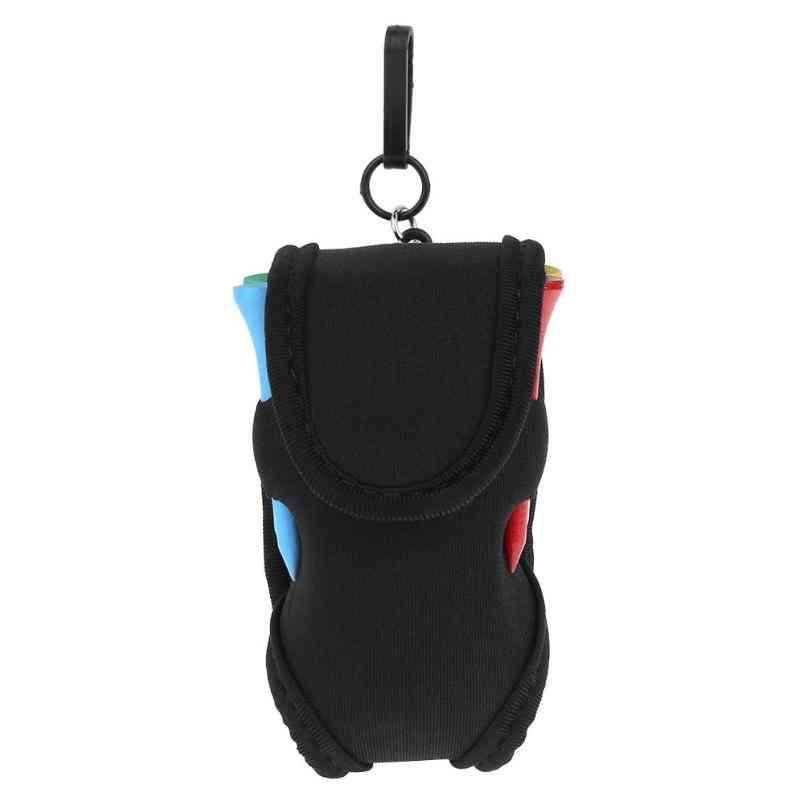 Mini Portable Golf Ball Holder Bag, Sbr Neoprene Waist Pack