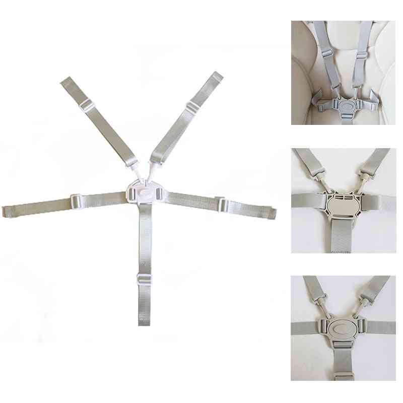 5 Point Harness Dining Feeding Chair Belts