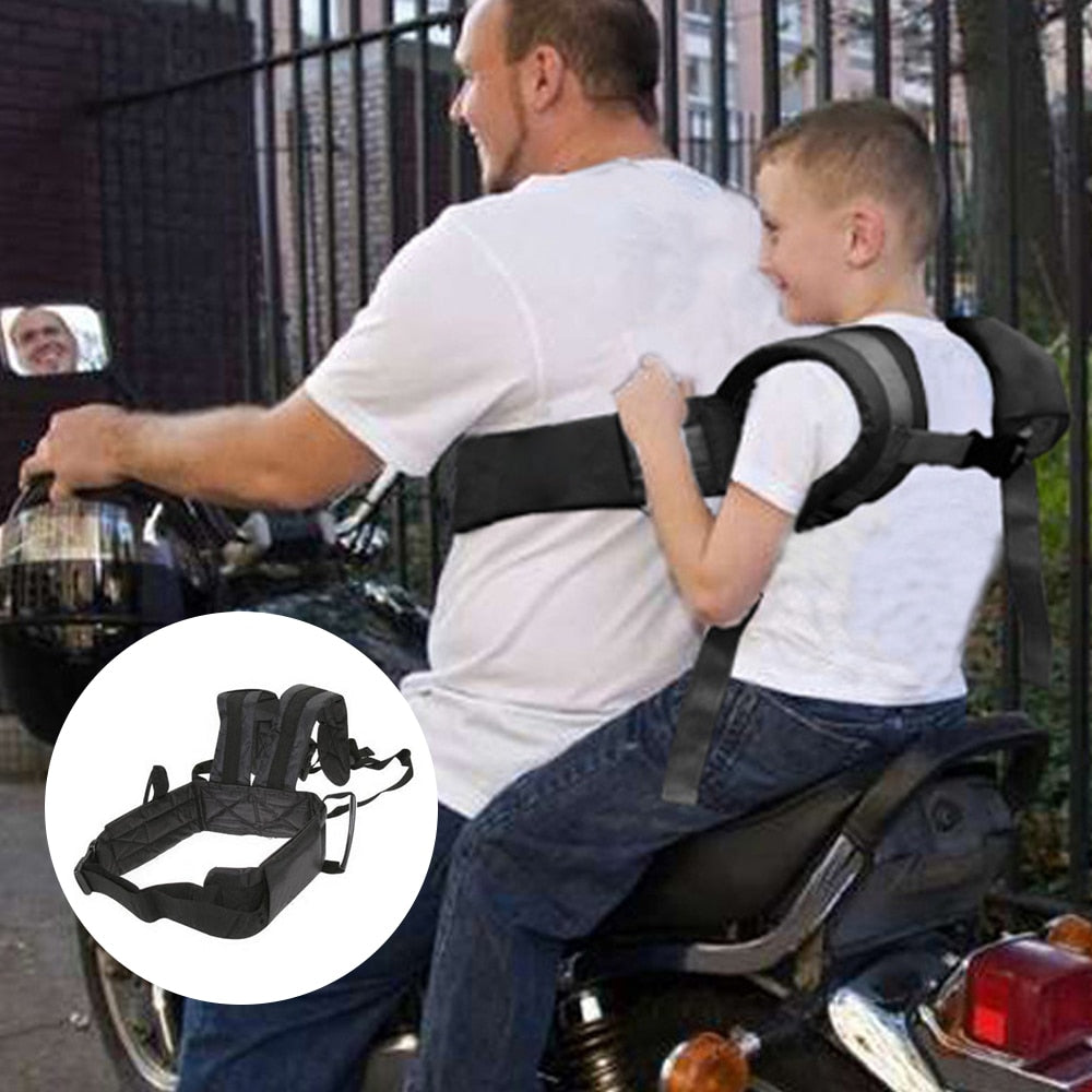 Adjustable Motorcycle Baby Safety Seat Belt
