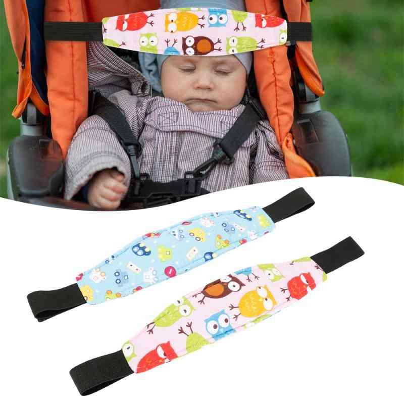 Baby Safety Stroller Car Seat, Sleep Nap Aid Head Support Belt