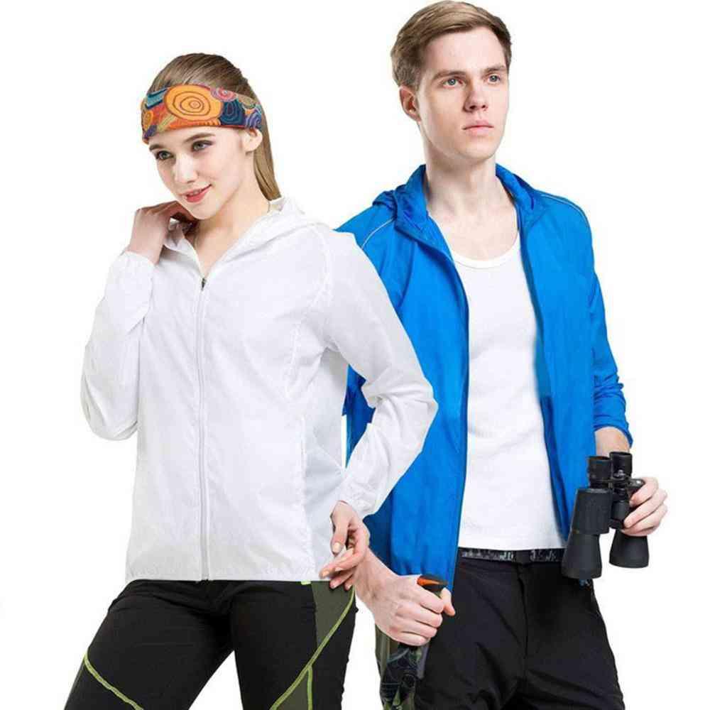 Men And Women Plus Size Sun Protective Ultra-thin Waterproof Coat