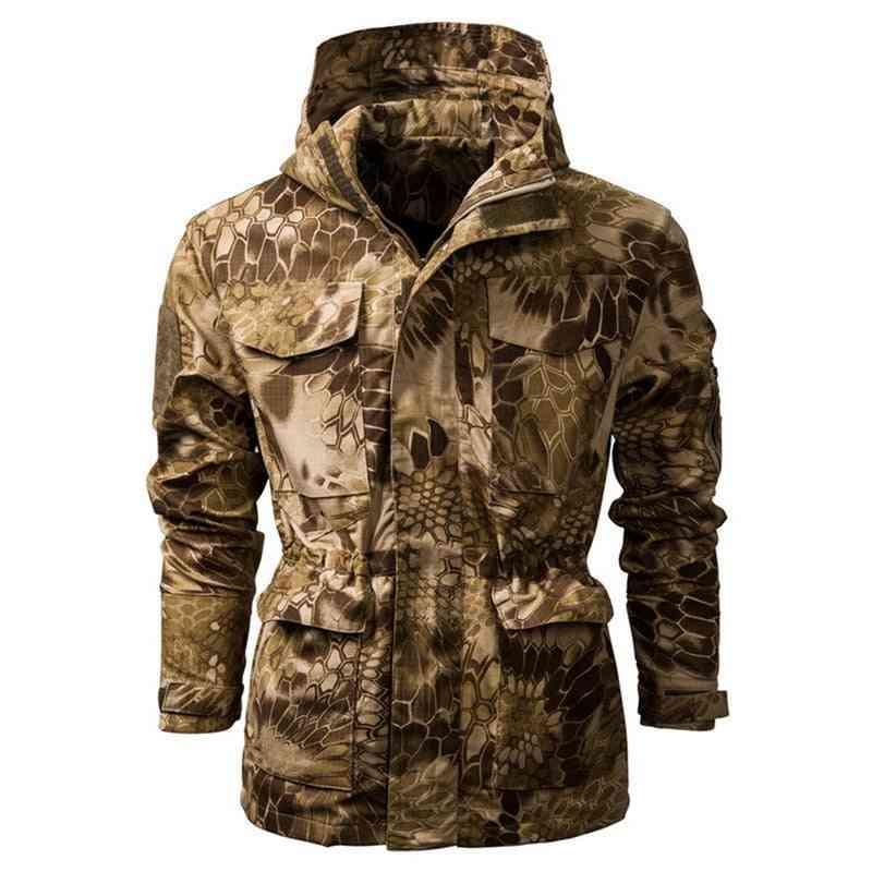 Military Tactical, Outdoor Jacket - Sportswear Thermal Hoodie