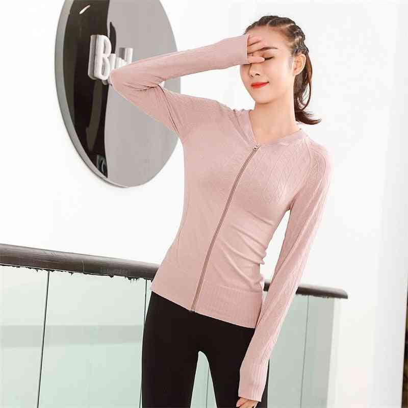 Women's Chill Out Fleece Full-zip Hoodie, Stand Collar Sport Jacket