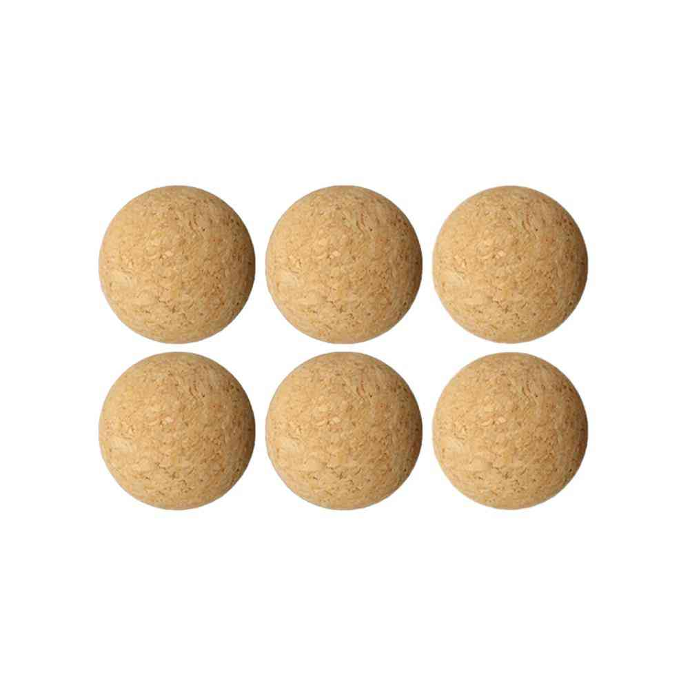 36mm Cork Solid Wooden Table Soccer