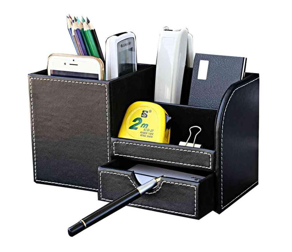 Multi-function Desk Stationery Organizer