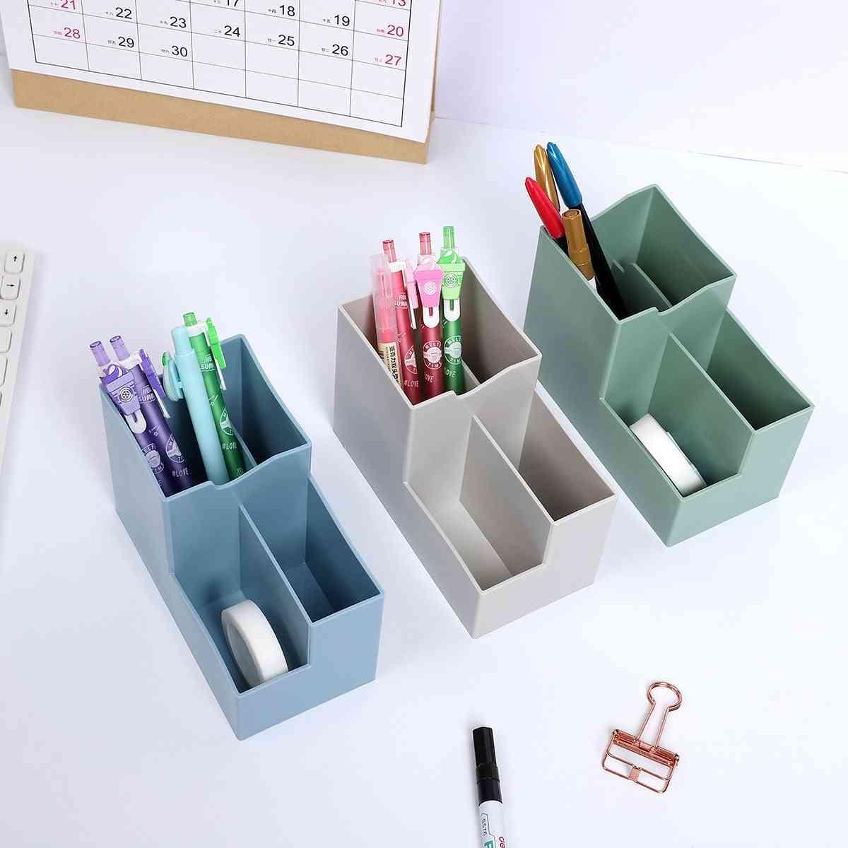 Creative Multi-function Pen Holder-desktop Storage Box