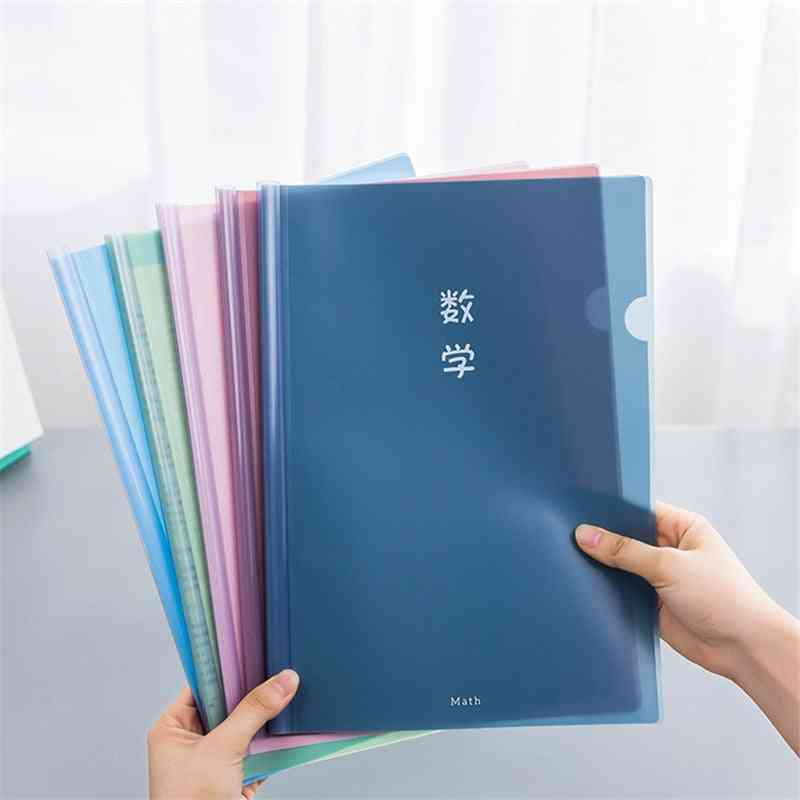 Transparent Document Folder For A4 Size Paper
