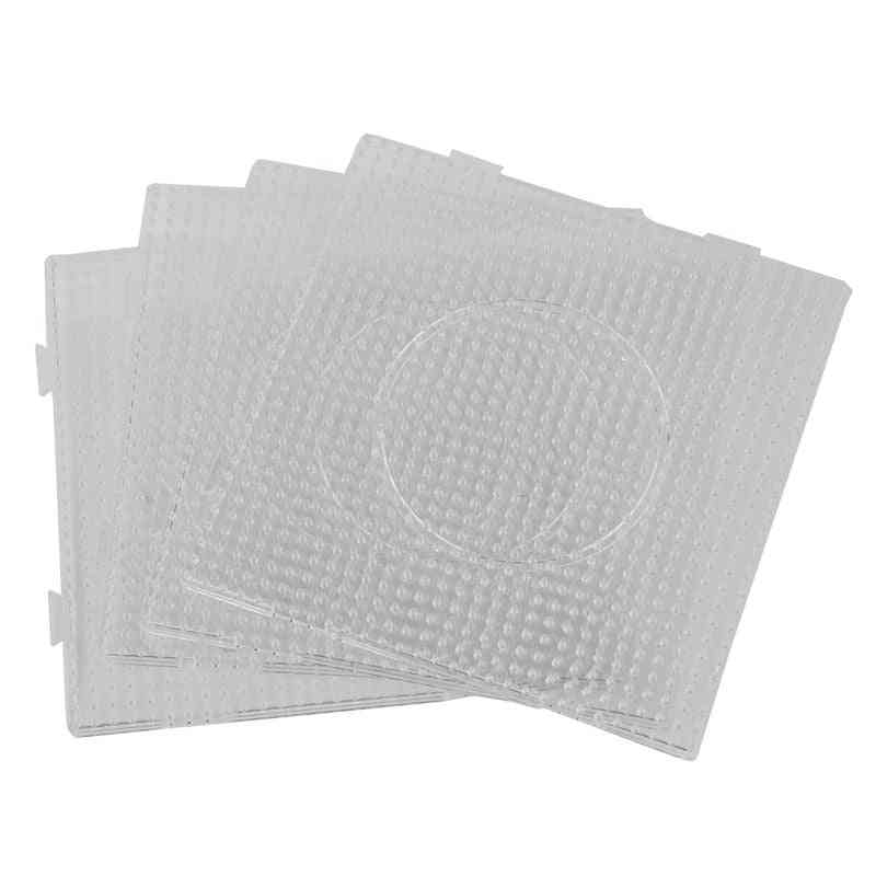 Square Shaped Transparent Pegboards For Perler Beads