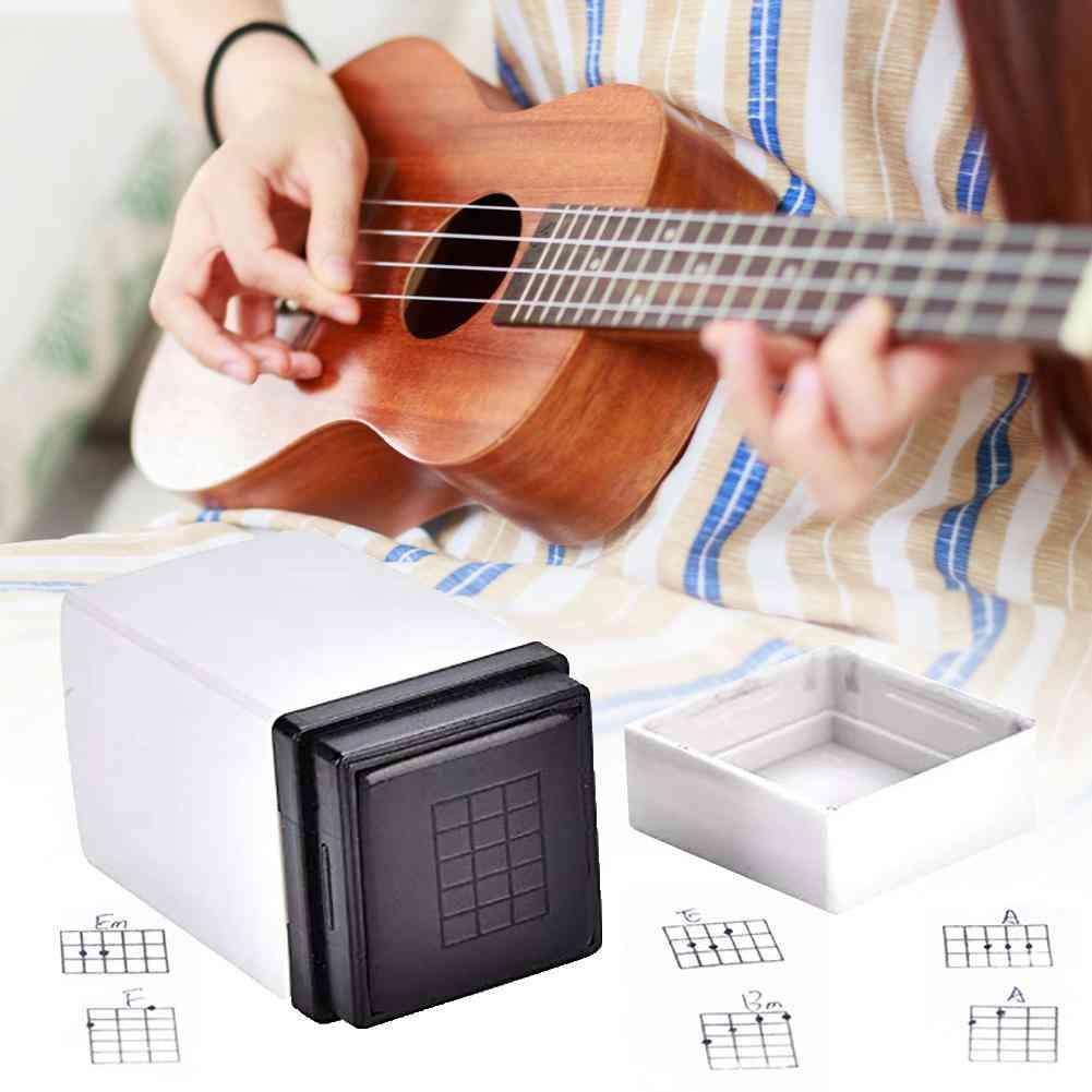 Guitar Stamp Accessories Classic Mandolin Chord Print Signet Tool For Beginner Teacher Songwriter