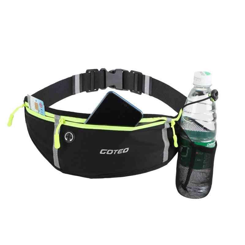 Waterproof Sports Waist Bag With Water Bottle Pocket