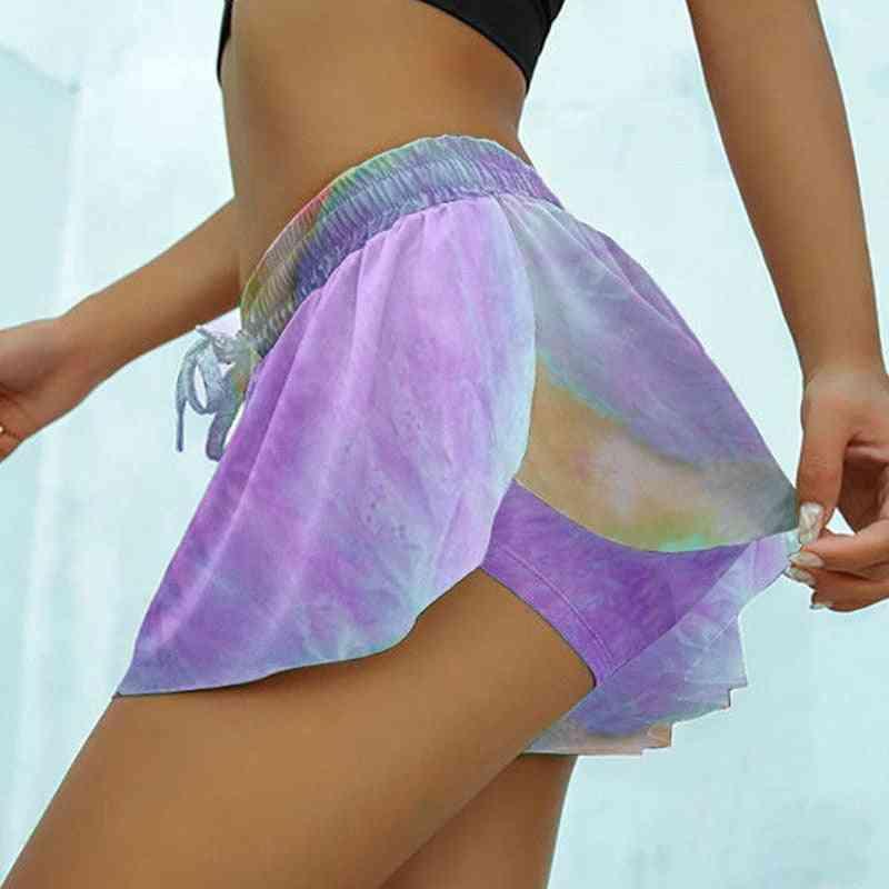 Sport Women Running Fitness Skirt / Shorts