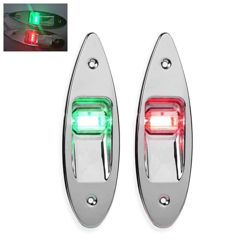 Boat Signal Lamp, Navigation Lights-waterproof, Anti-collision Plastic Indicator