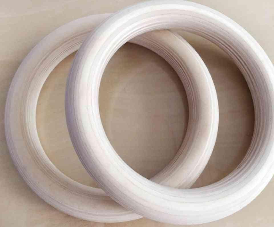 2pcs/pairs Wood Wooden Ring- 1.1