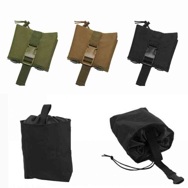 Tactical Molle Folding Dump, Airsoft Paintball Military Hunting Bag