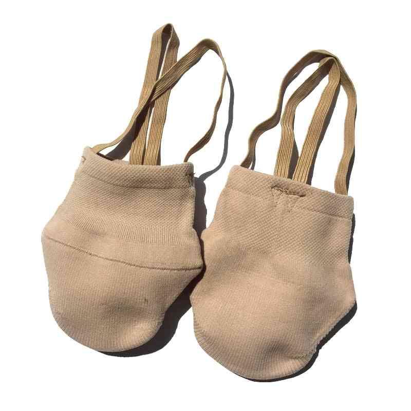Jusenda Rhythmic Gymnastic Shoes, Soft Half Socks