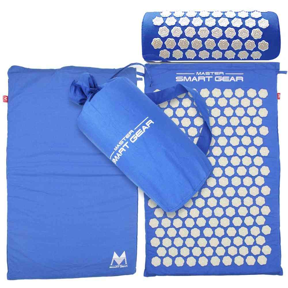 Spike Mat Acupuncture Pillow Set- Yoga Pad