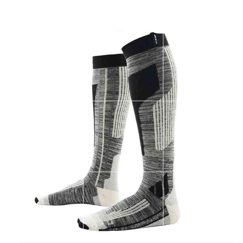 High-quality Professional Wool Socks, Warm Long Knee
