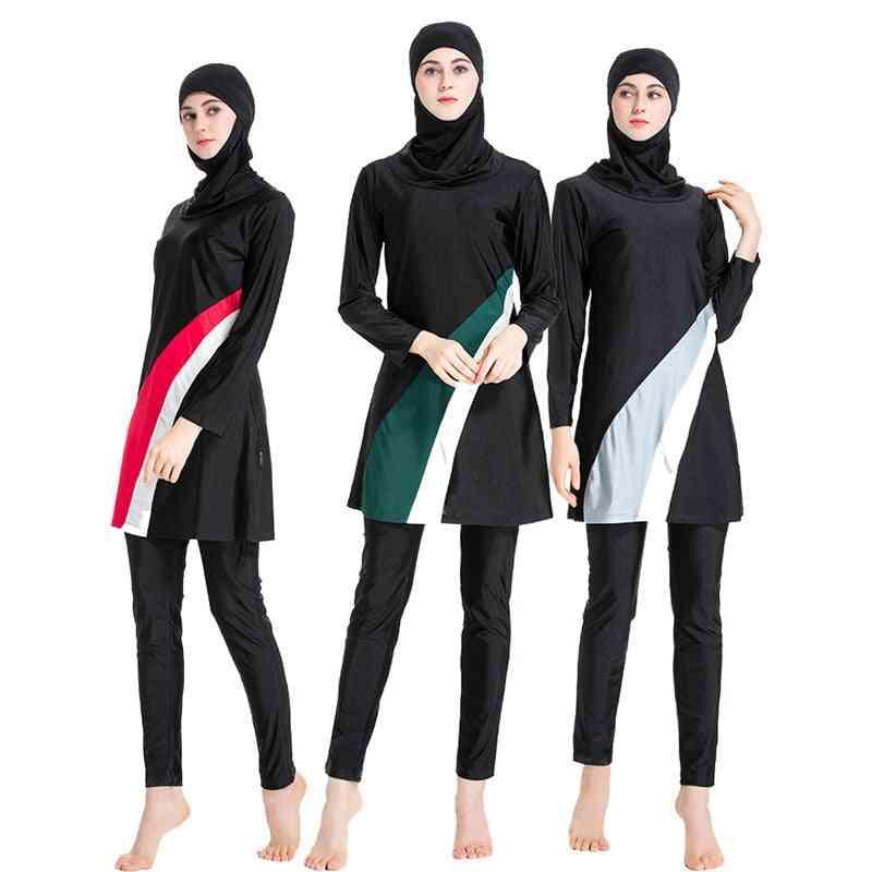 Women Islamic Burkini- Long Sleeve Swimwear