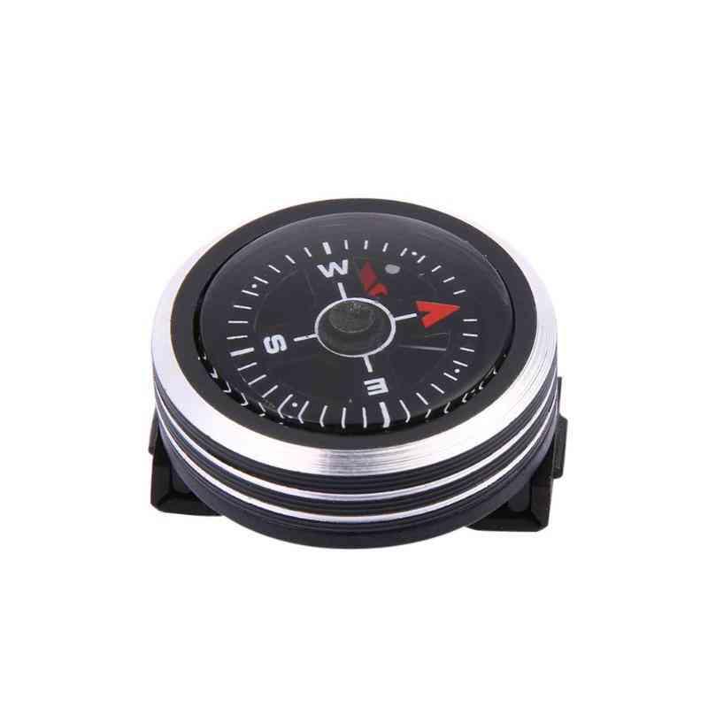 Mini Watch Strap Button Compass For Paracord Bracelet Survival