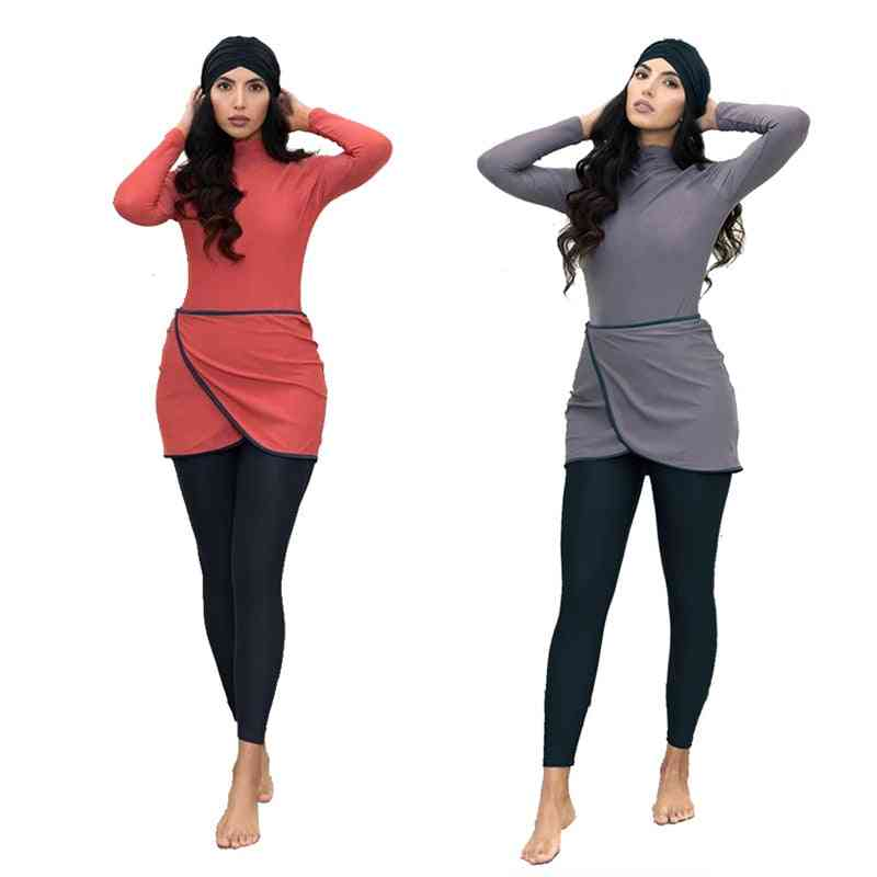 Muslim Swimwear Burkini -islamic Swimsuit -beachwear