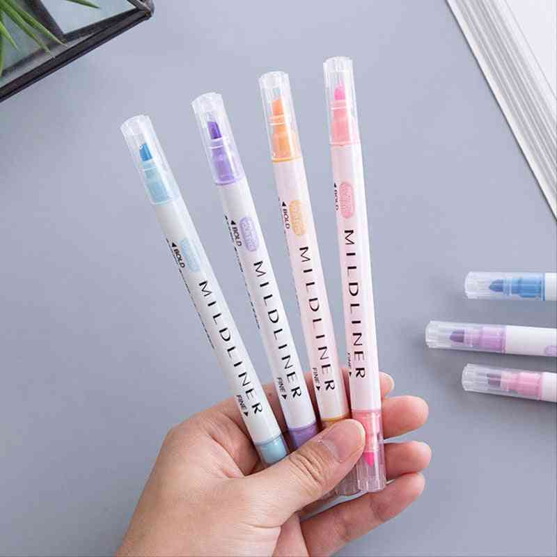 Zebra Mild Liner, Double-headed, Fluorescent Marker Pen