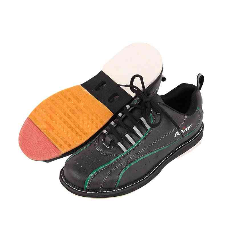 Mens Bowling Shoes With Skidproof Sole, Professional Sport Shoes