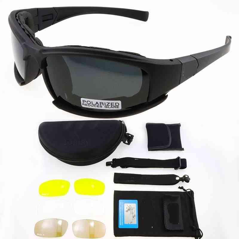 Polarized/photochromic Tactical Glasses-adjustable Eyewear