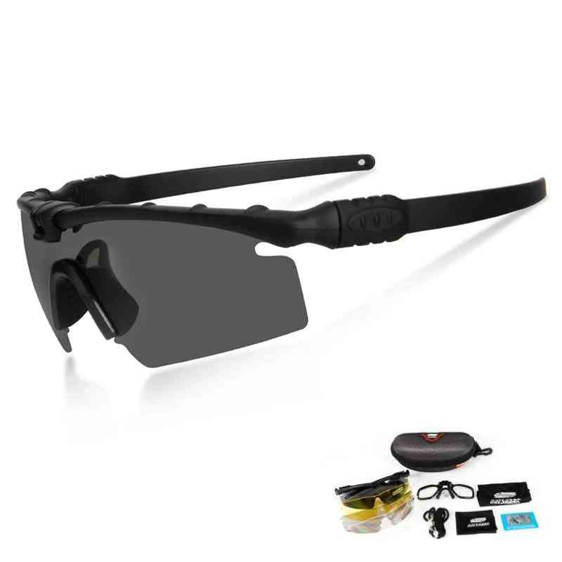 Hd Tactical Polarized Sunglasses- Myopia Frame
