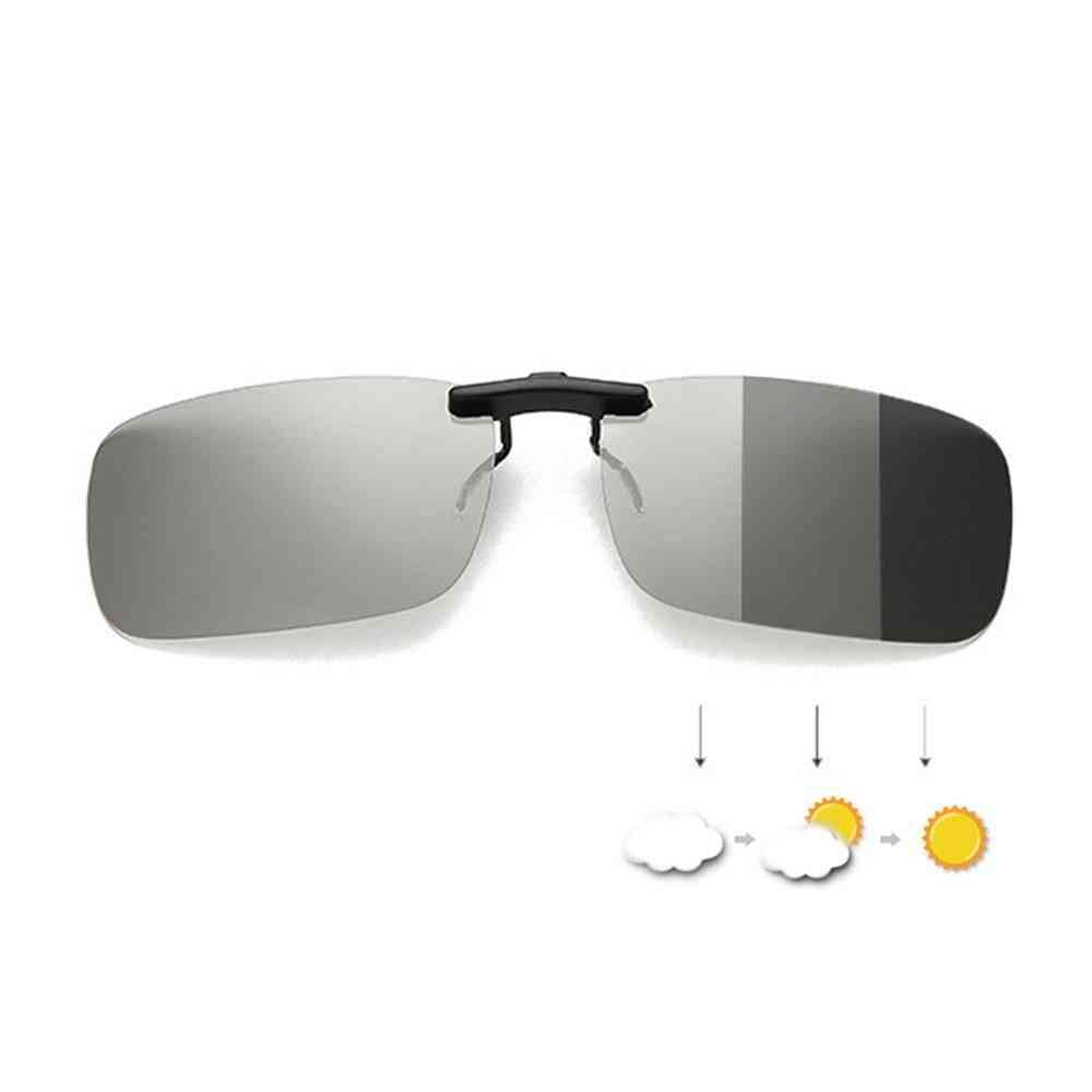 Clip On Polarized Sunglasses For Hiking/driving/cycling