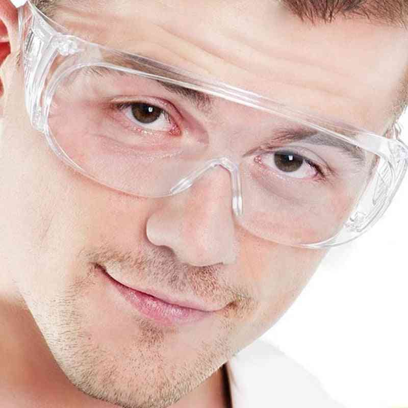 Clear Vented Safety Goggles -anti Fog Glasses