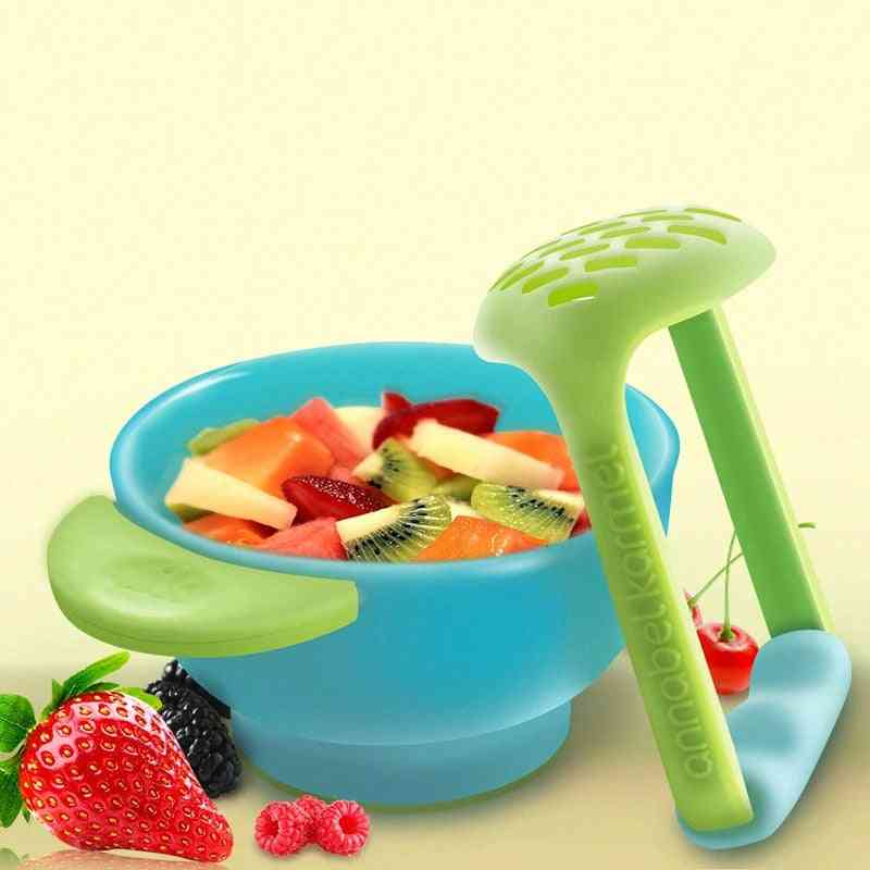 Bpa Free Baby Food Grinding And Feeding Bowl