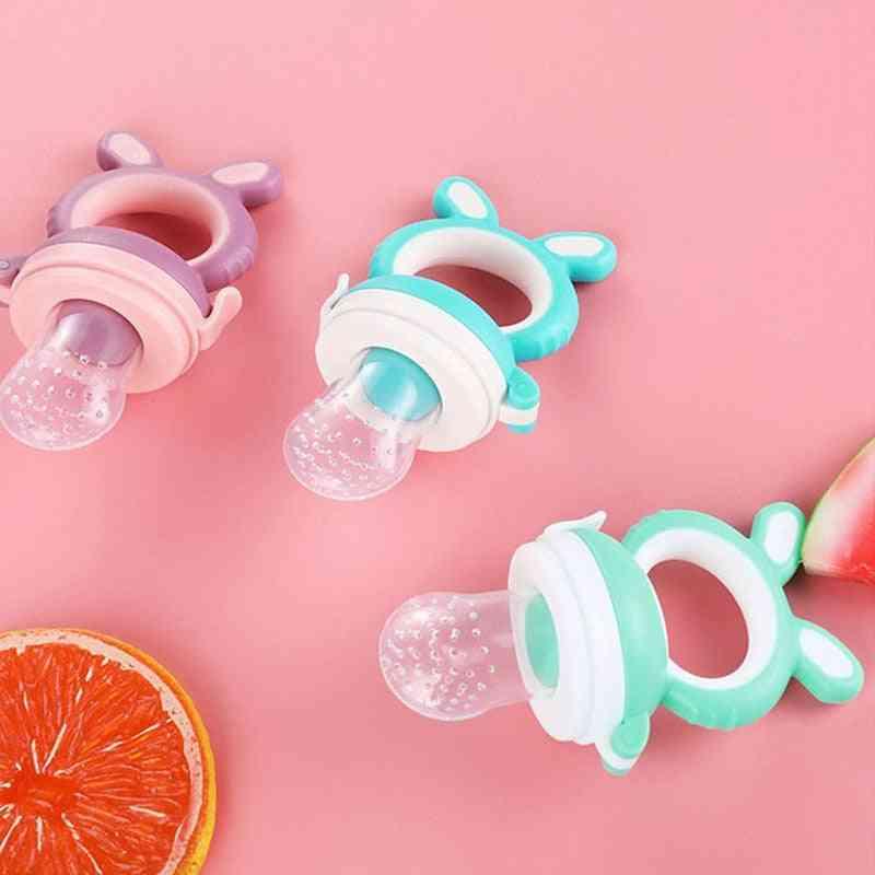 Baby Food Maker, Fresh Fruit Vegetable Mills Dispenser, Feeding Nipple Tool