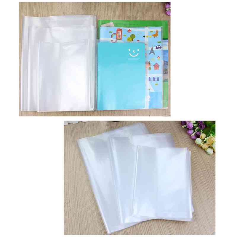 Waterproof, Transparent Self Adhesive Book Cover (3 Sizes: A4/25k/16k )
