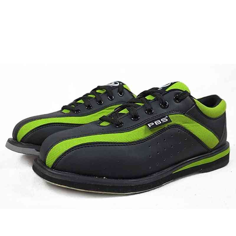 Men's Bowling Shoes With Skid Proof Sole Sneakers Breathable Cushioning Comfortable Training