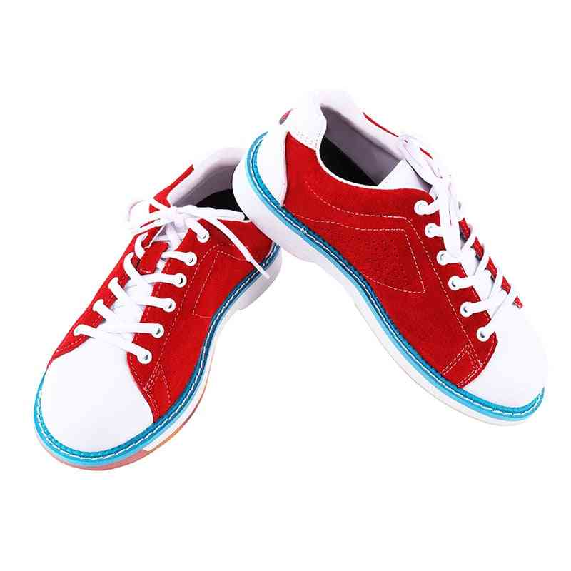 Women Sports Bowling Shoes, Non-slip Sole Indoor Training Breathable Lightweight Sneakers