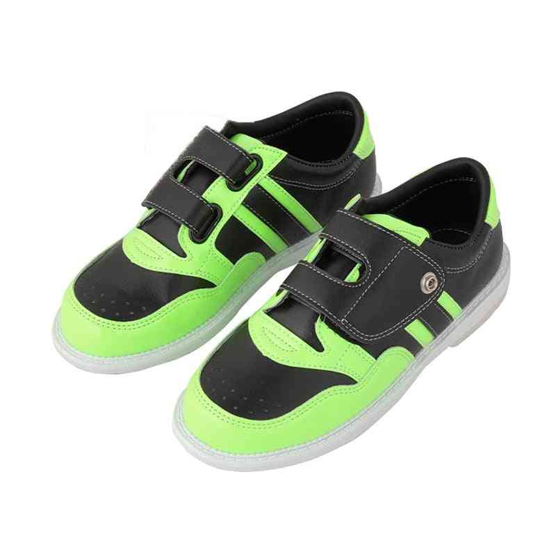 Men & Women Bowling Shoes With Skidproof Sole, Professional Sport Breathable Sneakers