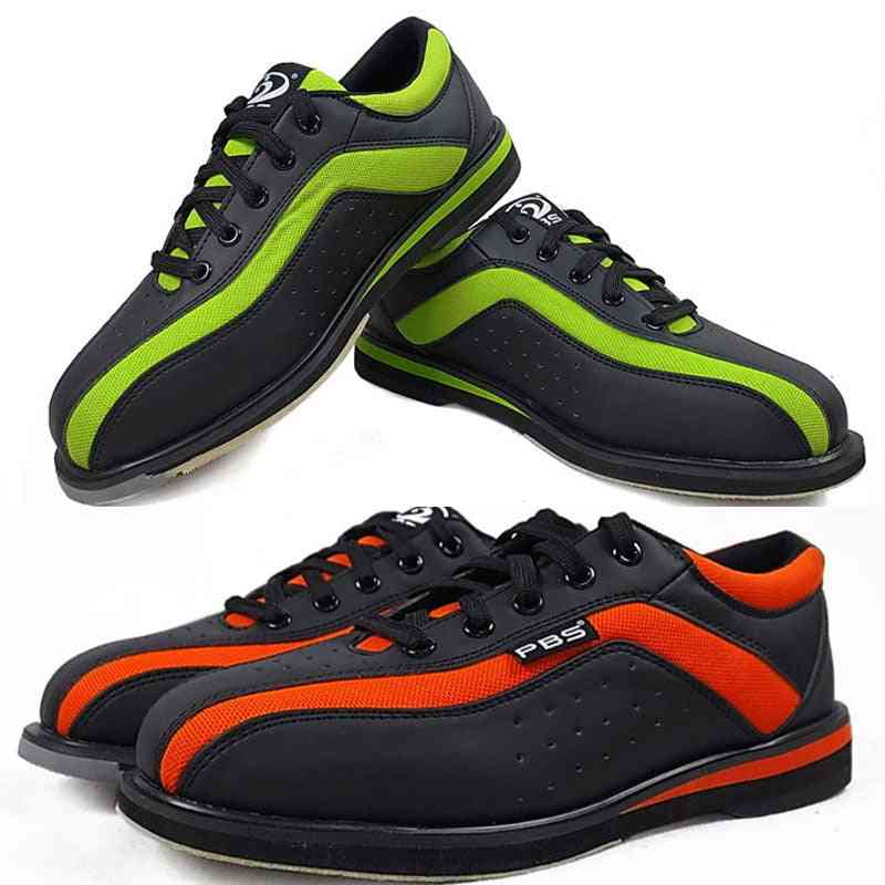Bowling Shoes & Women Professional Non-slip Sneakers