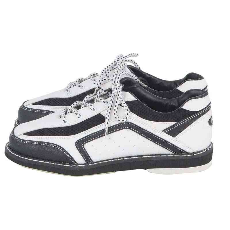 Professional Bowling Shoes Men, Soft Footwear Classic Sneakers