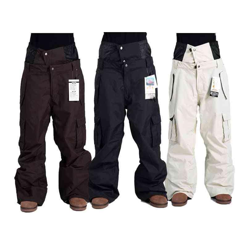 Outdoor Men Pants, Winter Profession Snowboard Waterproof Snow Trousers