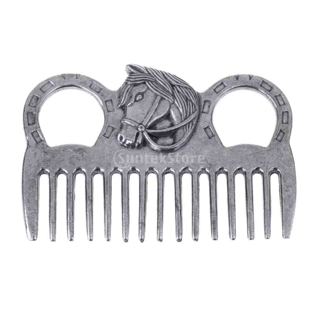 Stainless Steel Horse Pony Grooming Comb