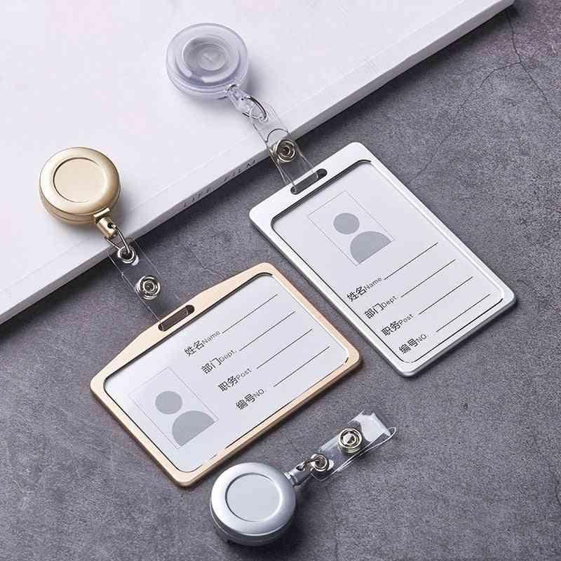Aluminum Alloy Card Holder (horizontal/vertical)