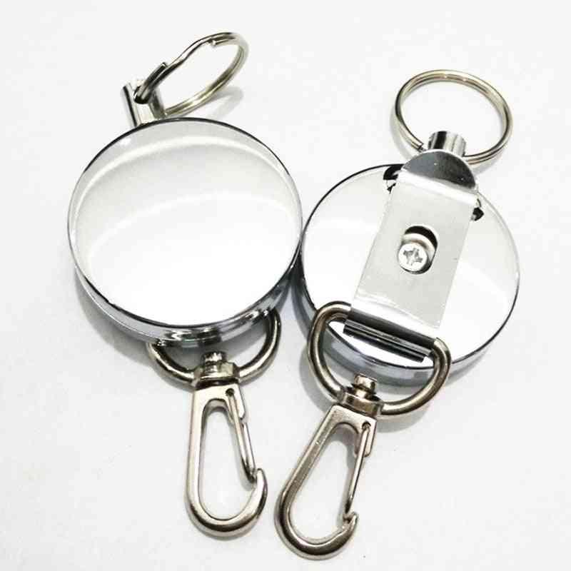 Retractable Badge Reel Belt Clip