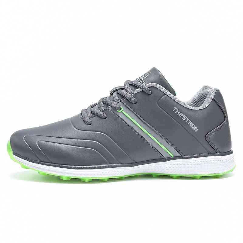 Men Professional Waterproof, Lightweight Golfer Footwear Sneakers Shoes