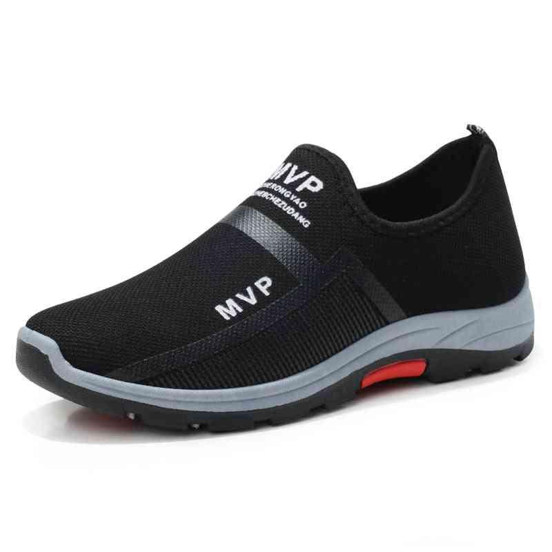 Summer Men Hiking Shoes- Outdoor Breathable Slip-on Trekking Shoe