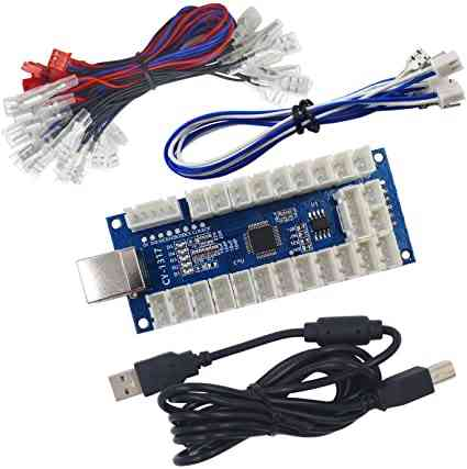 Usb Arcade Encoder Pc To Joystick And Cable For Controls