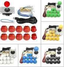 Zero Delay Usb Encoder Board, Usb Controller Pc Sanwa Joystick With Oval Ball Push Button