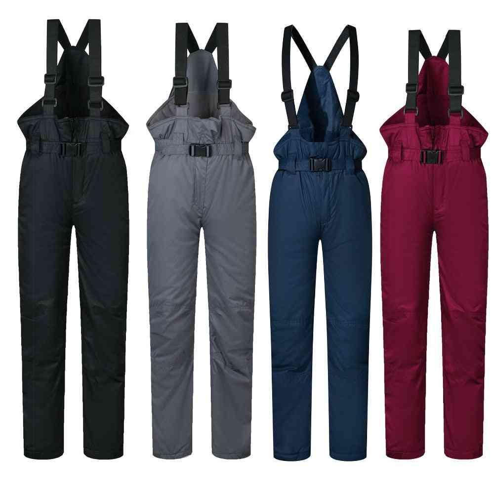 Ski Pants Kids Brands, And, Outdoor Sports Windproof, Waterproof, Warm, Winter, Snow Snowboard Trousers